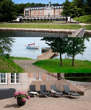 Her ses 3 billeder fra forskellige dele af naturen omkring Koldingfjord hotel