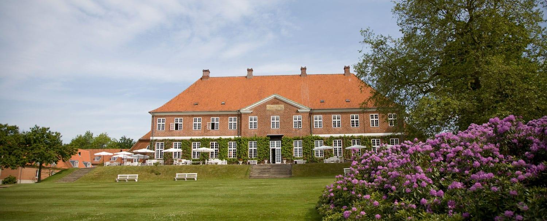 På billedet ses Hindsgavl Slot